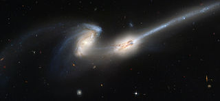 Galactic tide Tidal force experienced by objects subject to the gravitational field of a galaxy