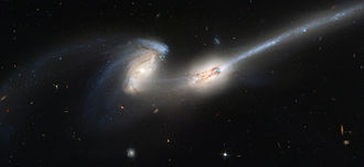Intergalactic star - Collisions between galaxies are commonly thought to be a source of intergalactic stars.