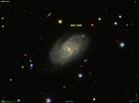 Image illustrative de l'article NGC 2540