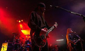 New Model Army discography - Image: NMA Cologne Dec 2007 cropped