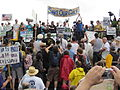 NOLA BP Oil Flood Protest Grand Isle.JPG