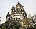 Nabaratna Temple of Radhabinode - Tottlygunge, Kolkata.jpg