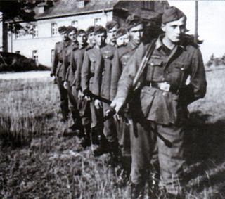 Nachtigall Battalion Ethnic Ukrainian unit of the World War Two German Army.