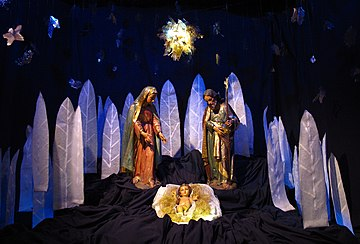 Nativity scene at the Buenos Aires Metropolitan Cathedral. Nacimiento BsAs.jpg