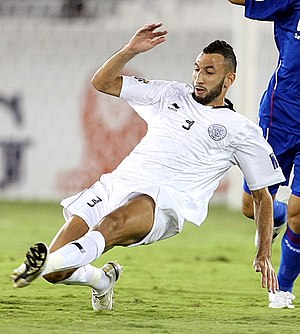 Nadir Belhadj - Belhadj playing for Al Sadd in 2011