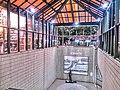 Nagaoka Station mae Chika Renraku Odoriba.jpg