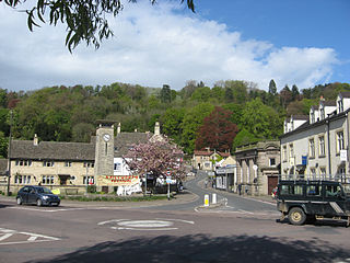 Nailsworth Human settlement in England