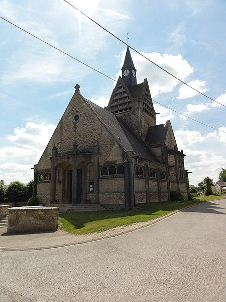 Nanteuil-la-Fosse (Aisne) église