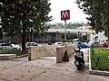 Napoli - largo Lala - stazione della metropolitana - accesso.jpg