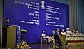 Narendra Modi looks on as IAS Officers of 2015 batch make presentations to PM on various themes, at the Valedictory Session of Assistant Secretaries (IAS Officers of 2015 batch), at DRDO Bhawan, in New Delhi (1).jpg