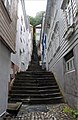 Narrow street, old stairs - Bergen, Norway - panoramio.jpg