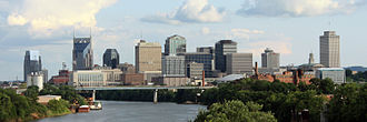 New South - Nashville, Tennessee skyline