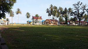 Natal, North Sumatra - The alun-alun (central square) in Natal