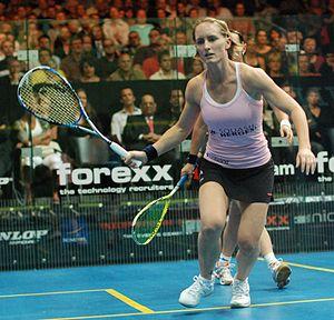Natalie Grinham - Natalie Grinham in action