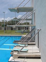 Caribbean sports venue wikivisually for Racquetball court construction cost