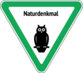 Natural Monument Sign 1995 Berlin.png