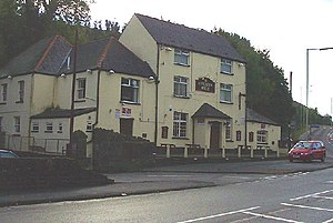 Glamorganshire Canal - Image: Navigation House, Abercynon geograph.org.uk 69776