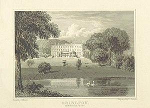 Orielton, Pembrokeshire - Orielton in 1818