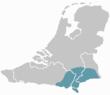 Het Limburgse taalgebied.