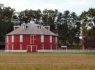 Penns Valley - Neff Round Barn Historic Landmark in Penns Valley