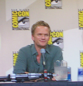 Neil Patrick Harris - Harris at the 2008 Comic Con in San Diego, California