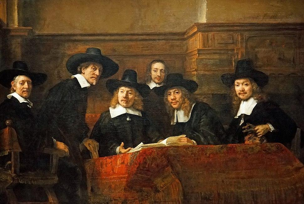 Netherlands-4183 - The Syndics, Rembrandt