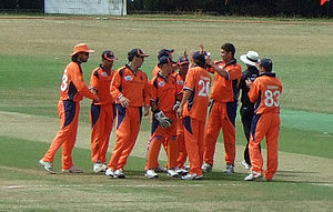 Netherlands national cricket team - Netherlands national cricket team at Rotterdam, ICC WCL Division One in 2010