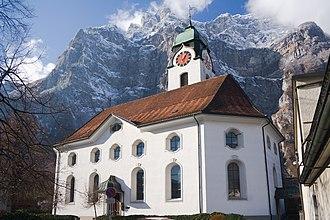 Netstal - Image: Netstal ref Kirche