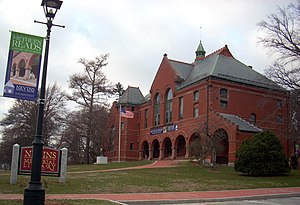 Methuen, Massachusetts - Nevins Memorial Library