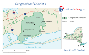 New York's congressional districts : Map (The Full Wiki)