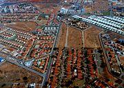 New housing development area