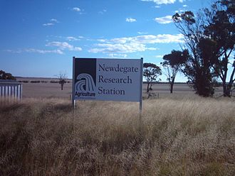 Department of Agriculture and Food (Western Australia) - Newdegate Research Station Entrance