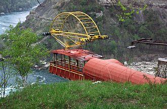 Leonardo Torres y Quevedo - The Niagara Aerocar.