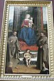 Nicolás Pisano, Madonna en trono debido tra Santi, angelo e, como consecuencia donatori.JPG
