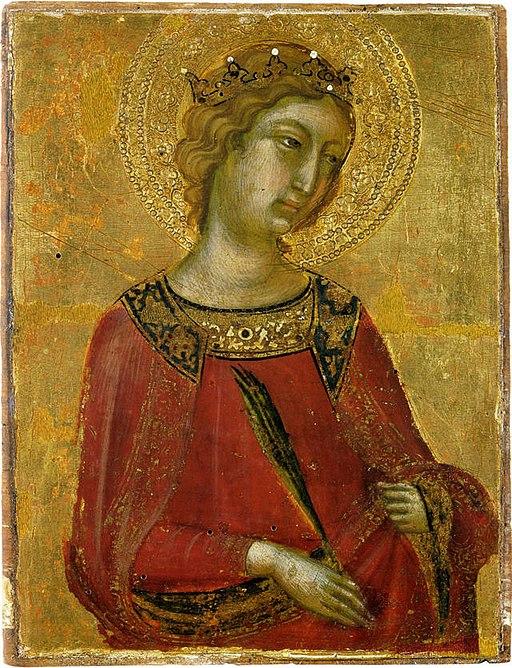 Niccolò di Segna (–1348), Santa Caterina d'Alessandria