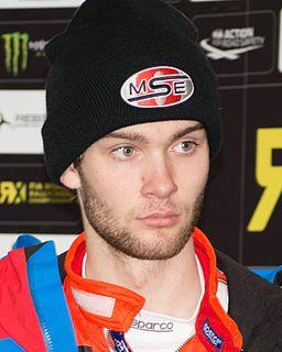 Niclas Grönholm Finnish racing driver