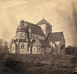 Nidaros Cathedral - The Cathedral in 1857