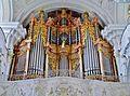 Niederaltaich Klosterbasilika St. Nikolaus Innen Orgel 2.JPG