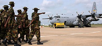 Federal government of Nigeria - Nigerian troops