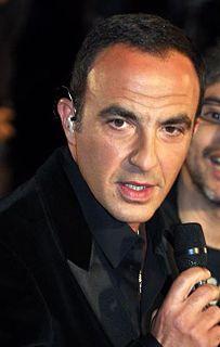 Nikos Aliagas French entertainer