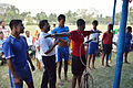 Nisith Ranjan Chowdhury Explains Medical Aspects of Football - Football Workshop - Nisana Foundation - Sagar Sangha Stadium - Baruipur - South 24 Parganas 2016-02-14 1318.JPG