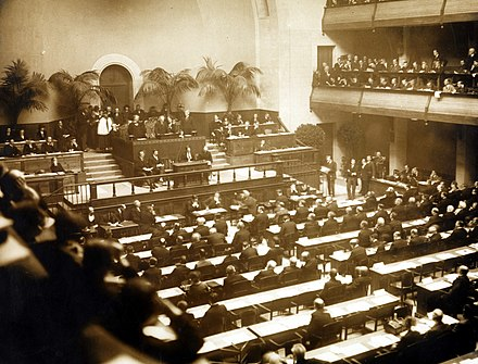 The official opening of the League of Nations, 15 November 1920 No-nb bldsa 5c006.jpg