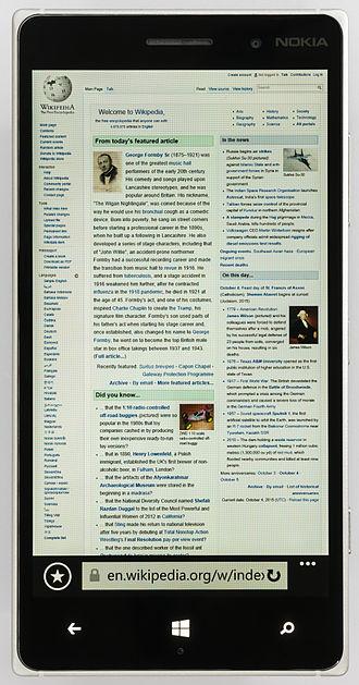 Nokia Lumia 830 - Image: Nokia Lumia 830