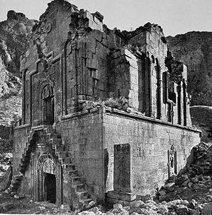 Noravank - The monastery in the early 20th century