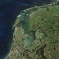 North Holland, Friesland and Flevoland by Sentinel-2 (Original 10m Res).jpg