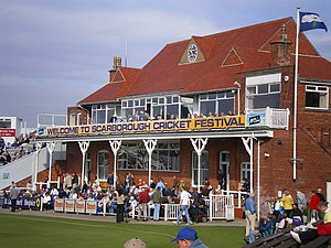 North Marine Road Ground, Scarborough - North Marine Road pavilion