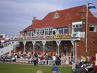 North Marine Road Ground, Scarborough - North Marine Road pavilion