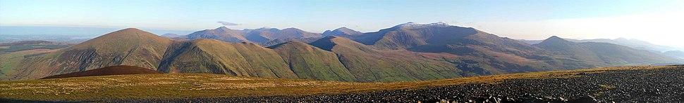 North snowdonia panorama