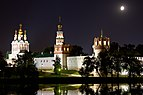 Novodevichy Convent night view.jpg