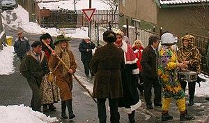 Slavic carnival - Masopust in Příbram District. Czech Republic, 2009